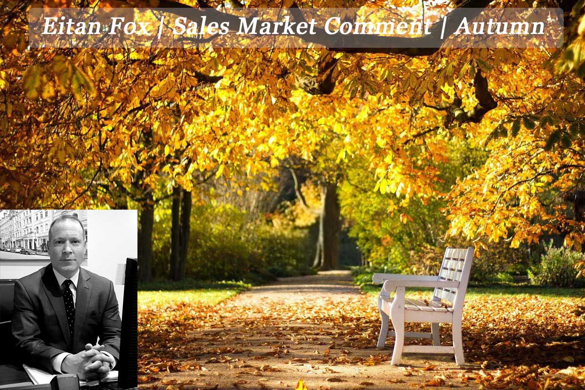 Eitan Fox | Sales Market Comment Autumn 2016 | Plaza Estates