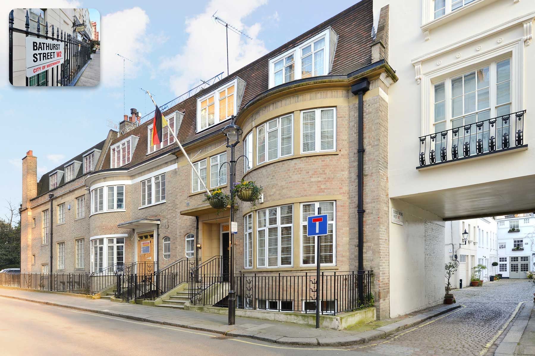 6 bedroom house bathurst street hyde park w2