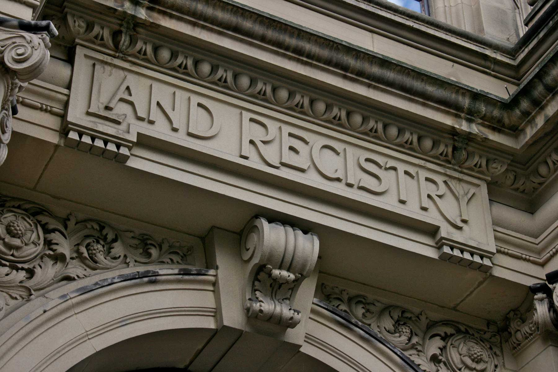 Land Registry sale