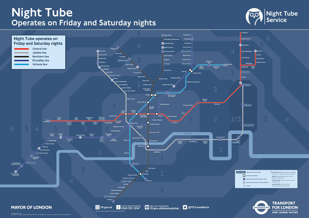 The impact of the night tube on Marble Arch