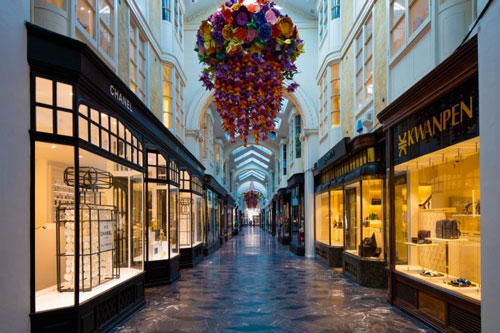London's world-famous Burlington Arcade up for sale