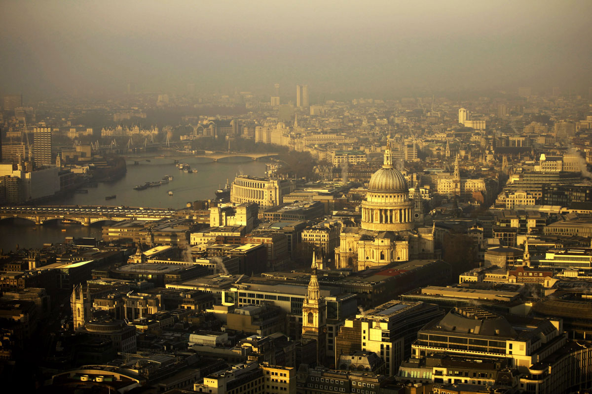 Central London property market shows signs of recovery