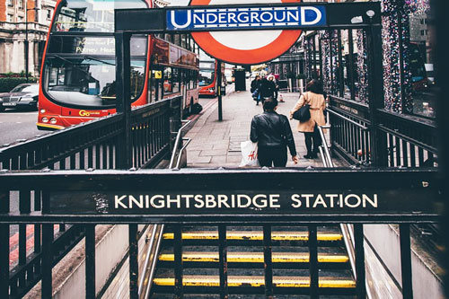 Transport for London announces Knightsbridge tube station will be step-free by 2020