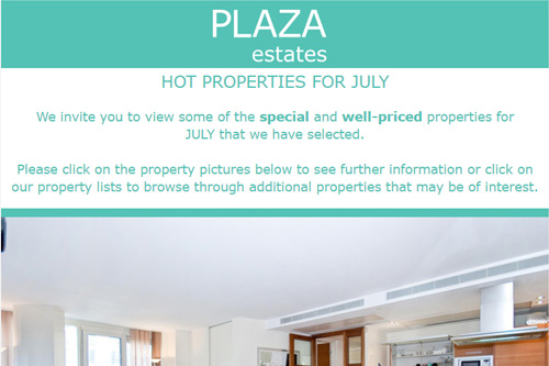 HOT PROPERTIES FOR JULY 2018