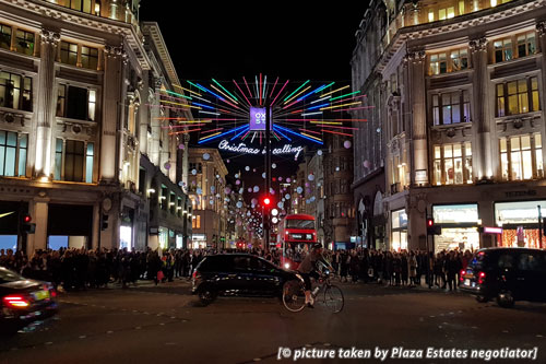 Oxford Street Christmas lights 2018 officially switched on