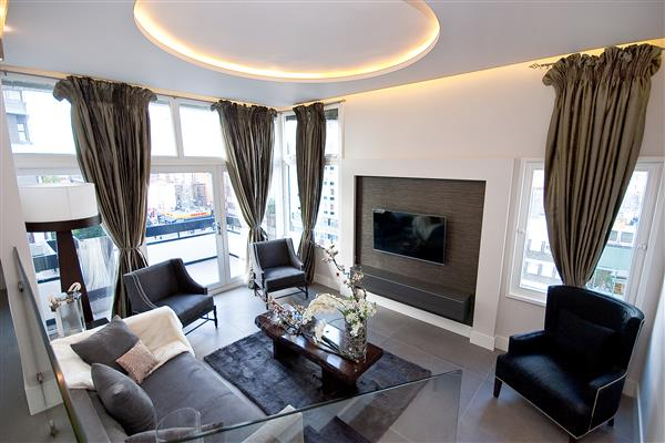 properties for sale 2 bedroom Apartment THE WATERGARDENS W2