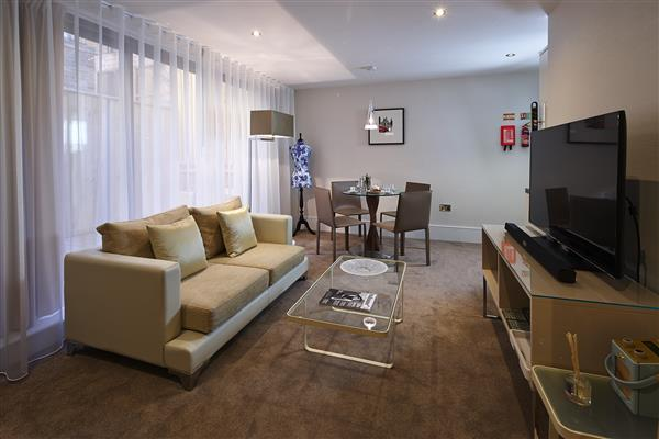 properties to rent 1 bedroom Serviced Apartment BROMPTON ROAD, KNIGHTSBRIDGE, SW3