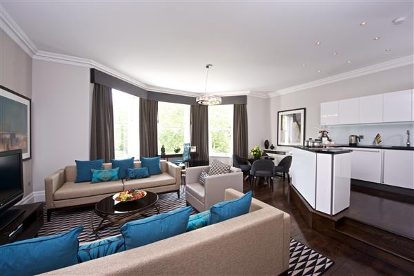 properties to rent 1 bedroom Serviced Apartment STANHOPE GARDENS, SOUTH KENSINGTON, SW7.