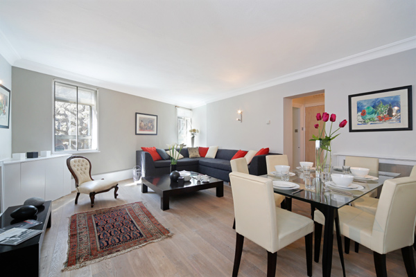 properties to rent 3 bedroom Apartment CRAWFORD STREET, MARYLEBONE, W1